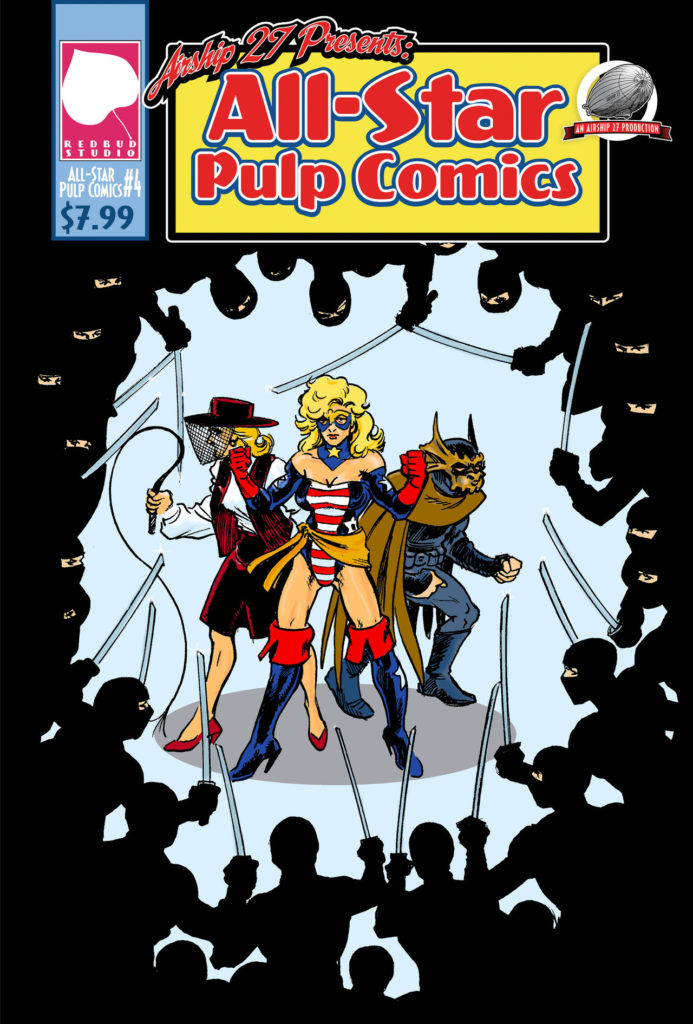 Cover Art for All Star Pulp Comics #4